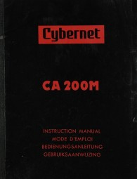 Cybernet CA 200 M Bedienungsanleitung