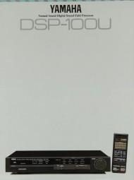 Yamaha DSP-100 U Prospekt / Katalog