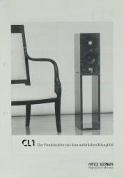 Onyx Studio CL 1 Prospekt / Katalog