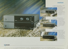 Kinshaw Overture Prospekt / Katalog