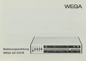 Wega 3121 B Bedienungsanleitung