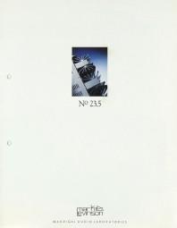 Mark Levinson No 23.5 Prospekt / Katalog