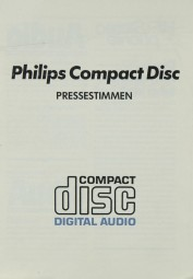 Philips Pressestimmen Philips CD-100 Testnachdruck