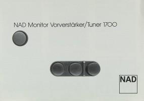 NAD 1700 Prospekt / Katalog