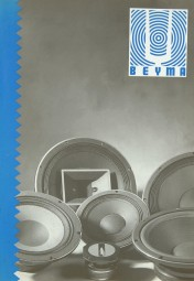 Beyma Verschiedene Prospekt / Katalog