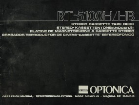 Optonica RT-5100 H/HB Bedienungsanleitung