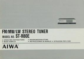Aiwa ST-R 80 E Bedienungsanleitung