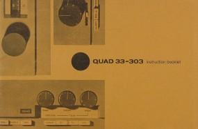 Quad 33-303 Bedienungsanleitung