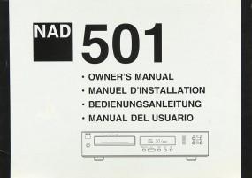 NAD 501 Bedienungsanleitung