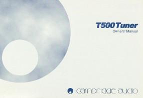Cambridge T 500 Bedienungsanleitung