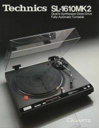 Technics SL-1610 MK 2 Prospekt / Katalog