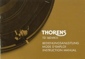 Thorens TD 160 MK II Bedienungsanleitung