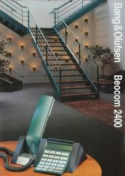 B & O Beocom 2400 Prospekt / Katalog