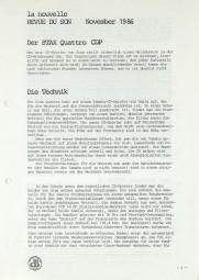 Stax Quattro CDP Prospekt / Katalog