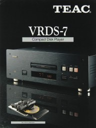 Teac VRDS-7 Prospekt / Katalog