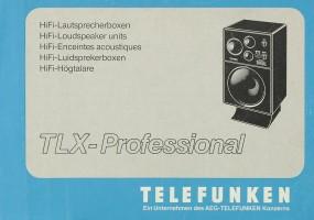 Telefunken TLX-Professional Bedienungsanleitung