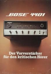 Bose 4401 Prospekt / Katalog
