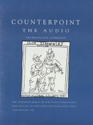 Counterpoint Verschiedene Prospekt / Katalog