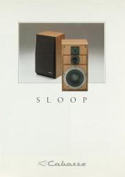 Cabasse Sloop Prospekt / Katalog