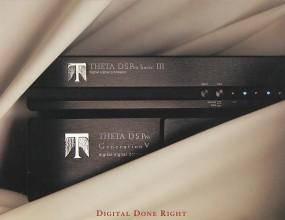 Theta Verschiedene Prospekt / Katalog