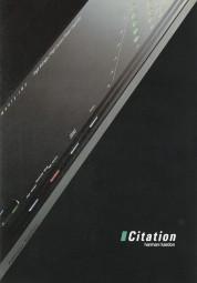Harman / Kardon Citation Prospekt / Katalog