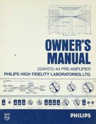 Philips 22 AH 572-44 Bedienungsanleitung