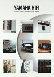 Yamaha Verschiedene Prospekt / Katalog