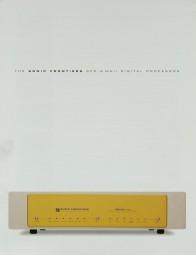 Sonic Frontiers SFD-2 MK II Prospekt / Katalog