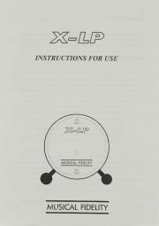 Musical Fidelity X-LP Bedienungsanleitung