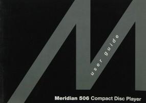Meridian 506 Bedienungsanleitung