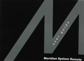 Meridian MSR Bedienungsanleitung