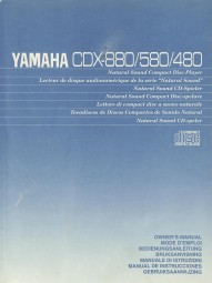 Yamaha CDX-880 / 580 / 480 Bedienungsanleitung