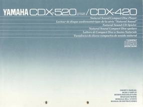 Yamaha CDX-520 RS / CDX-420 Bedienungsanleitung