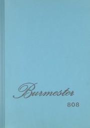 Burmester 808 Bedienungsanleitung