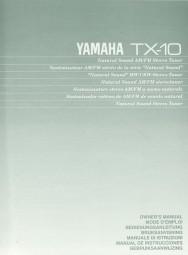 Yamaha TX-10 Bedienungsanleitung