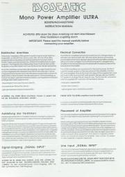 Isostatic Ultra Bedienungsanleitung