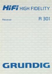Grundig R 301 Bedienungsanleitung
