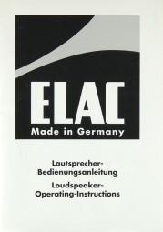 Elac CL 102 i Bedienungsanleitung