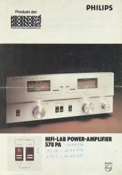 Philips 578 PA Prospekt / Katalog