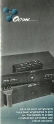 OCM 500 / 200 / 88 / 55 / 10 Prospekt / Katalog