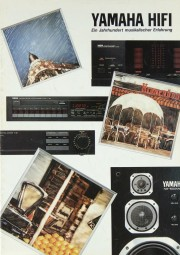 Yamaha Produktübersicht Prospekt / Katalog