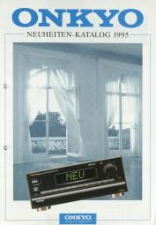 Onkyo Neuheiten 1995 Prospekt / Katalog