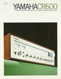 Yamaha CR 600 Prospekt / Katalog