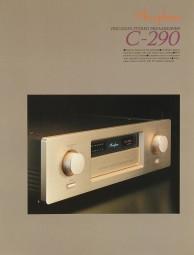Accuphase C-290 Prospekt / Katalog