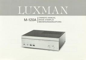 Luxman M-120 A Bedienungsanleitung
