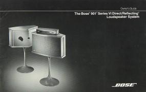 Bose 901 Series Bedienungsanleitung