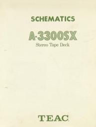 Teac A-3300 SX Schaltplan / Serviceunterlagen