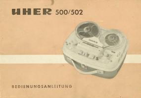 Uher 500 / 502 Bedienungsanleitung