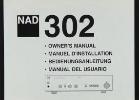 NAD 302 Bedienungsanleitung