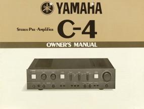 Yamaha C-4 Bedienungsanleitung